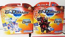 Hasbro Battle B Daman DHB COBALT BLADE CHROME ZEPHYR EARLY SAMPLES