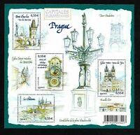 Bloc Feuillet 2008 N°126 Timbres France Neufs - Capitales Européennes Prague