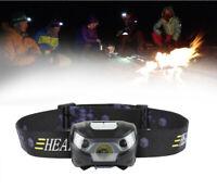 Portable Headlamp Head Torch Rechargeable Headlight LED  Flashlight Work Light