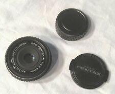 Vintage Asahi SMC Pentax M 40mm 1:2.8 Camera Lens