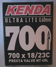 BICI ULTRA LITE CAMERA D'ARIA 700 C x 18-23 valvola lunga presta