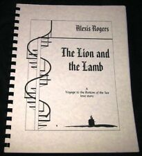 """Voyage To Bottom of the Sea Fanzine """"The Lion and the Lamb 1"""" SLASH"""