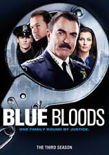 Blue Bloods The Third Season Three 3 (DVD 2013, 6-Disc) Tom Selleck, Wahlberg
