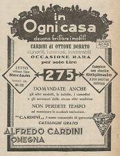 Z2026 Letti di ottone Alfredo Cardini - Pubblicità d'epoca - Advertising