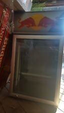 Red Bull Fridge Refrigerator with metal stand