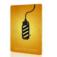 "Metal Tin Sign ""Ghostbusters"" Awesome Poster Classic Movie 80 Retro Art Vintage"