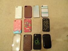 PHONE COVERS X 12 VARIOUS