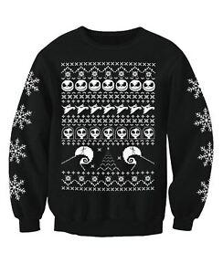 Nightmare Before Christmas Adults Novelty Christmas Jumper Sweatshirt