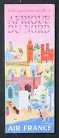 Brochure touristique AIR FRANCE AFRIQUE DU NORD Bayle dépliant Tourisme
