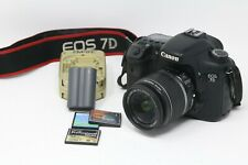Canon EOS 7D 18MP Digital SLR Camera18-55mm lens