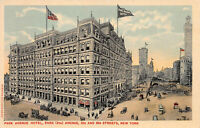 Hotel Imperial, Manhattan, New York City, Early Postcard, Unused