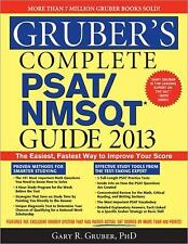 GRUBER'S Complete PSAT/NMSQT Guide 2013 Practice Texts Exams STUDY WORKBOOK