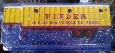 Cirque Pinder Semi Remorque Ménagère Bétaillère Ref 24 Neuf Sous Blister