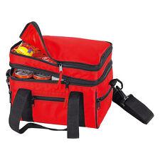 Kleine Kühltasche - 9 Liter Volumen - mit Etagenfächern und Außentaschen Outdoor
