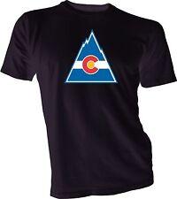 Colorado Rockies Defunct Nhl Ice Hockey Tee T Shirt team sports Handmade New