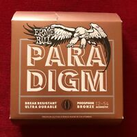 ERNIE BALL 2076 PARADIGM Phosphor Bronze Medium Light 12-54 Corde Chitarra Acust