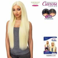 Sensationnel Synthetic Empress 6 Inch Part Custom Lace Front Wig Sleek Straight