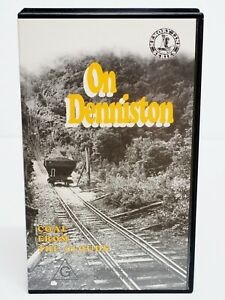 On Denniston - Coal From The Clouds - New Zealand 1993 NZ Train VHS Video Tape
