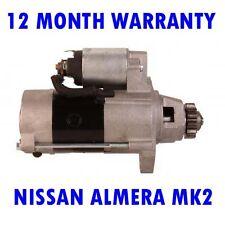 NISSAN ALMERA MK2 MK II 2.2 2000 2001 2002 2003 2004 - 2015 STARTER MOTOR