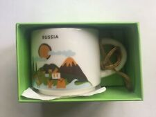 Starbucks Russia Ornament Mug 2 Oz