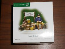 Dept 56 Nwew England Village Accessory Fresh Oysters Nib
