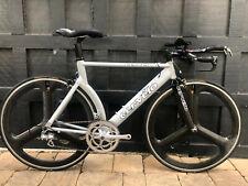 Cervelo P3 triathlon time trial bike Dura Ace carbon Profile Design 55cm FRAME