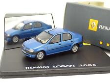 Eligor 1/43 - Renault Logan 2005 Bleue