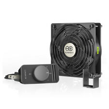 AXIAL S1225, 120mm Muffin Fan for Doorway, Room to Room, Wood Stove, Fireplace