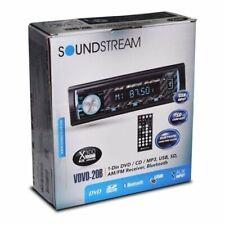 Soundstream Vdvd�20B Single Din In-Dash Bluetooth Usb Dvd/Cd Car Audio Receiver