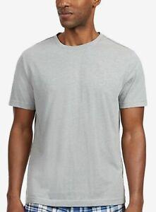 $64 Nautica Men's Pajama Shirt Gray Crew Neck Sleepwear Lounge Wear Size M