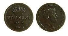 pcc1882_2) Napoli Regno delle Due Sicilie Ferdinando II - 2 Tornesi 1853