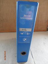 BMW - Ordner Service Informationen der Jahre 1994/ 95/ 96/ 97/ u. 1998!!!
