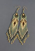 Long Native American style Beaded Earrings(ON SALE)