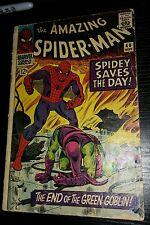 The Amazing Spider-Man #40 (Sep 1966, Marvel) G/+ DECENT C PHOTOS + DESCRPT
