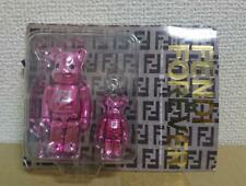 BE@RBRICK 100% & 50% FENDI #2 Pink Ver. Novelty Rare Medicom Bearbrick Japan