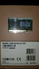 SODIMM 1GB 2 X 512MB PC2700 DDR 333 200p LAPTOP MEMORY