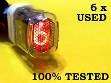 6 x In-17 rare Nixie Tubes for Diy clock | Tested 100% | Soviet Military