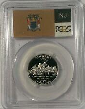 1999 S New Jersey SILVER PROOF QUARTER PCGS 69DCAM