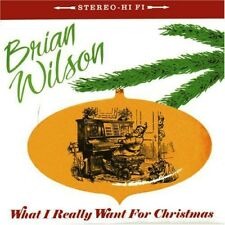 "Brian Wilson - What I Really Want for Christmas [New 7"" Vinyl]"