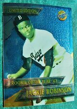 1995 Jackie Robinson Rookie of the Year Topps Chrome Los Angeles Dodgers Lmtd