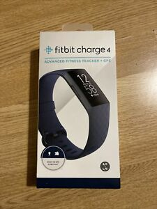 Fitbit Charge 4 Fitness Tracker - Storm Blue