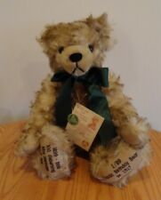 "1999 Max Hermann Classic Birthday Bear #1517/2000 18"" Tall Germany With Tags"