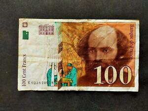 France billet 100 francs 1997 type Cézanne
