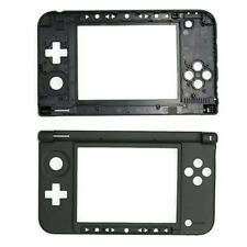 NEW Replacement Hinge Part Black Bottom Middle Shell Housing for Nintendo 3DS XL