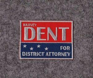 Harvey Dent Attorney Patch Joker Nurse Sew On Costume Badge Superhero Villain