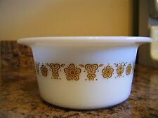 Pyrex Butterfly Gold margarine tub Corelle Coordinate