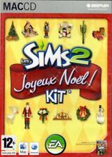 JEU MAC CD../...LES SIMS 2 ....JOYEUX NOEL.../...KIT D'EXTENSION.....