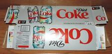 """2016 USA Coca-Cola DIET COKE """"IT'S MINE"""" EMPTY 12-PACK SODA CAN CARTON/CASE"""