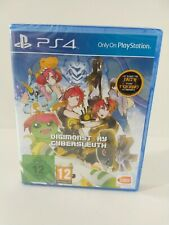 NEW Digimon Story Cybersleuth Playstation 4 Sealed, German Case, English Game.