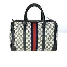 Gucci Boston Bag Navy used